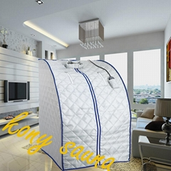 Portable far Infrared Sauna with cotton bathtub