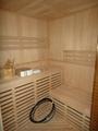 Hemlock wood Traditional Finnish Sauna with HARVIA stove