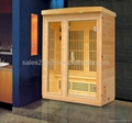 2 persons infrared sauna KY-AH022LEB