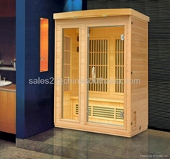 hottest hemlock far infrared sauna suitable for family
