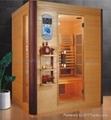 3 person size far infrared sauna
