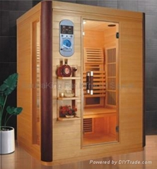 3 person size far infrared sauna