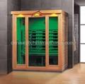 3 person infrared sauna KY-AH033LFB,CE