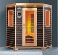 3persons infrared sauna KY-AH033 CE,ROHS