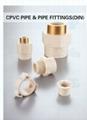 HT-CPVC DIN熱水系統