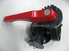 PVC BUTTERFLY VALVE(HANDLE LEVEL TYPE) (Hot Product - 1*)