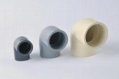 PVC/CPVC DIN PN10/16 90 DEG. ELBOWS