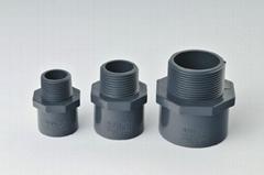 PVC/CPVC DIN PN10/16 MALE ADAPTOR