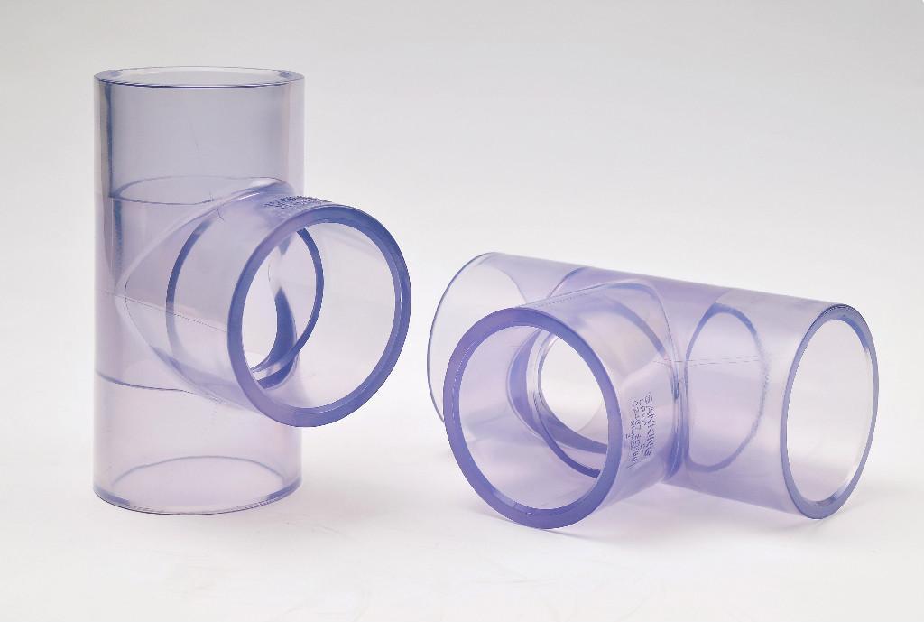 透明PVC 正三通 1