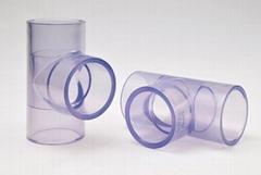 透明PVC 正三通