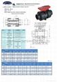 CPVC/PP/UPVC TRUE UNION  BALL VALVE(Chemical resistance)
