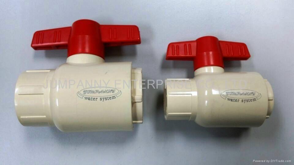 CPVC COMPACT BALL VA  E ASTM/SCH80/D2846 2