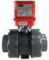 ELECTRIC ACTUATOR TRUE UNION BALL VALVE