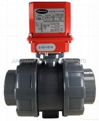 JUMPANNY耐酸硷电动执行器球阀