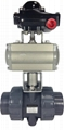 PENUMATIC ACTUATOR TRUE UNION BALL VALVE