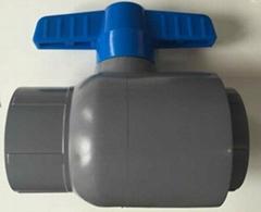 CPVC單由令球閥ASTM/SCH80/D2846
