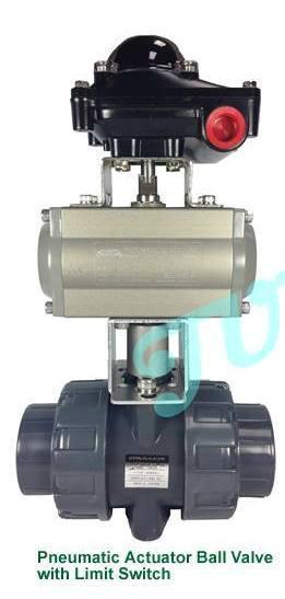 JUMPANNY耐酸硷气动执行器塑胶球阀 1