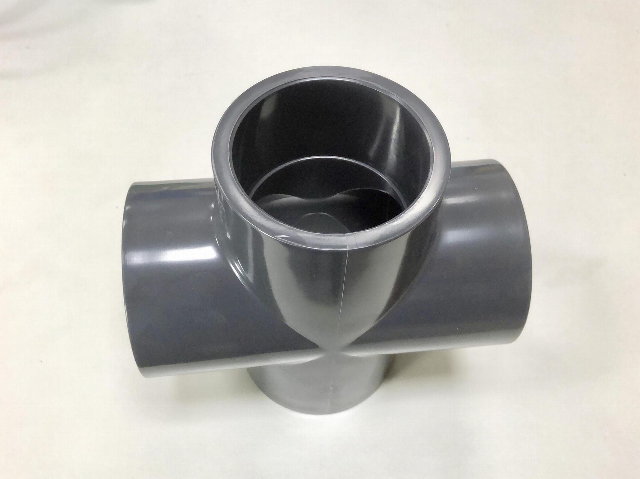 美标PVC SCH80四通(十字通) 1