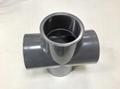 美標PVC SCH80四通(十
