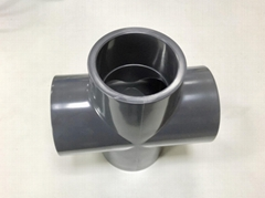 美標PVC SCH80四通(十字通)