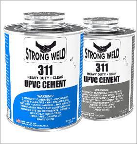 UPVC胶水,PVC胶合剂工业专用灰色 1