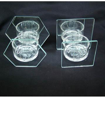 玻璃彩绘烛台 1