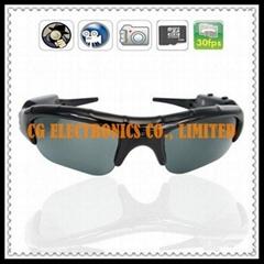 Sunglasses Camera DVR 640x480 30FPS + Take Photo 3264x2448 + Micro SD Slot