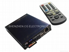 4 Channels Real-time Protable SD Card DVR