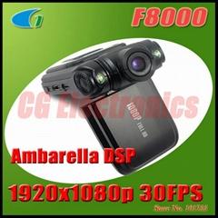 F8000 Mini Full HD 1920x1080p 30FPS Portable Car DVR Camcorder w/2.0' LCD