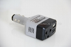 DC12-24V to AC110-220V Car Mobile Converters on Car with USB Port / Car inverter