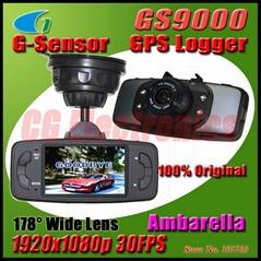 """Original GS9000 Ambarella chipset 1080P 30fps Car DVR 2.7"""" LCD Car Recorder"""