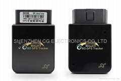 Super mini Vehicle In Car OBD2 OBDII GRS GSM GPRS Tracker Built-in Battery