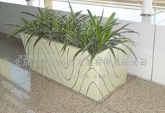 Firberglass flower pot