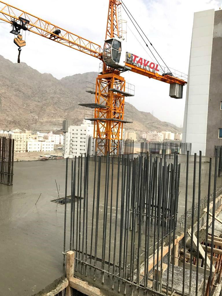 Topkits tower crane from China 5