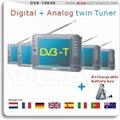 Digital TV + Analog TV twin tuner TFT LCD TV