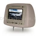 7 inch dvd player with headrest pillowbag,usb,cover,sd