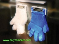 Poly Blue Grill Glove