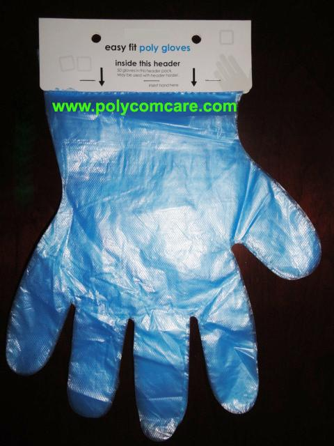 Poly Blue Grill Glove 3
