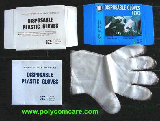 PE塑料 手套 2