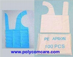 PE Poly Flat Packed Apron