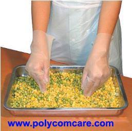 CPE塑料手套 1