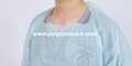 CPE/PE Elastic Cuff Style Surgical Gown