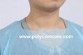 Polyethylene Thumb Loop Style  Isolation Gown 2