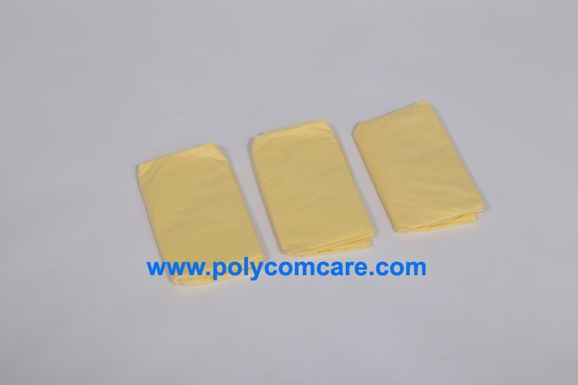 CPE/Plastic  isolation gown 3
