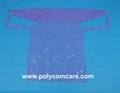 PE/Plastic isolation gown 2
