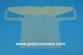 PE/Plastic isolation gown