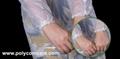 Polyethylene Thumb Loop Style  Isolation Gown 6