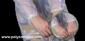 Polyethylene Thumb Loop Style  Isolation Gown