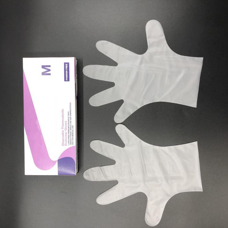 Thermoplastic Elastomer Examination(TPE ) Glove 2