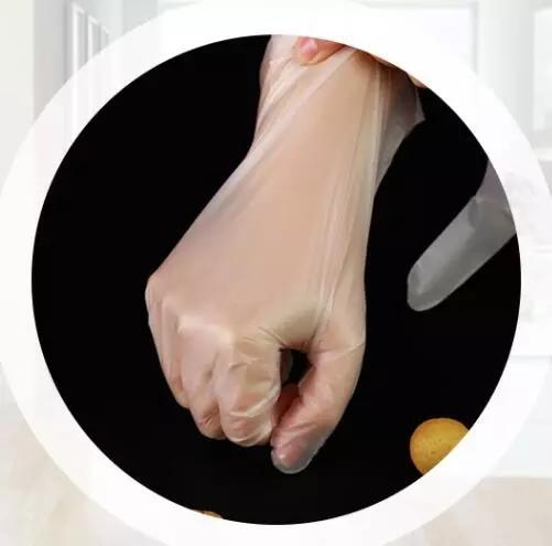 Disposable Plastic TPE Gloves  4